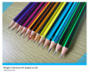 7′′ Top Quality Colorful Stripped Hb Pencil for Students and Artist