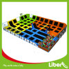 Five Different Function Area Used 16ft Mini Tent Rectangular Trampoline Park with Safety Net and Ball Game