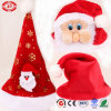 Xmas Gift Quality OEM Hat with Santa Clause Head Toy