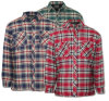 Men′s Flannel Padding Jacket Lumberjack Work Shirt