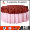 100% Polyester Nice Round Table Skirting (JC-ZB02)