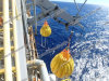25ton Life Boat Davit Load Test Water Filled Weight Bags