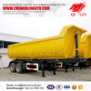 3 Axles U Form Dump Traile Rwith Front Lifting Cylinder