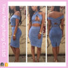 Wholesale Womens 2 Piece Sexy Bandage Dress 2016