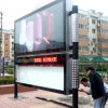 Roadside Single Side Scrolling Bulletin Light Box Frame
