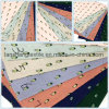 Printed 100%Cotton Fabric for Dress Scarf Skirt Children Clothes