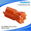 T51-89mm Retrac Drop Center Ground Drill Bit