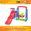 Indoor Babyslide Plastic Playsets with Swing (PT-041)