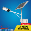 80000 Hours Working Lifetime 130lm/W Outdoor LED Solar Street Light