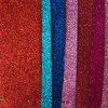 Hot Sell Glitter Synthetic PU Leather for Dance Shoes Hw-1957