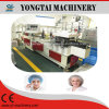 Plastic PE and Nonwoven PP Round Bouffant Cap Making Machine