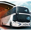 Wide Vision and Comfort Journey Passenger Bus Slk6129ak