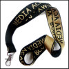 Strong Extra Thick Woven/Jacquard/Knitting Logo Custom Lanyard for ID Badge Holder