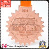 China Manufacturer OEM Custom Copper Metal with Souvenir Medal