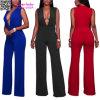 Hot Girl V-Neck Club Wear Sexy Women Jumpsuits (L55335)