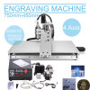 4axis CNC Router Engraver Machine Drilling/Milling