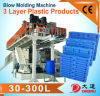 Hmw-HDPE Blow Molding Machine to Make IBC, Pallets