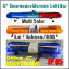 Red Blue Amber LED Car Roof Emergency Warning Light Bar Factory Price