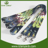 Your Logo Custom Plain Sublimation Lanyard with Carbine Hook