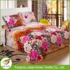 Wholesale Home Polyester Flower Design Single Bed Sheet