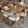 Commercial Restaurant Table and Chair Wooden Dining Furniture (SP-CS337)