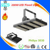 Hot Energy Saving Philips LED High Mast Flood Light 200W for Airport Stadium Tennis Court