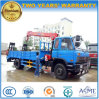 Dongfeng 4*2 4 Tons Telescopic Crane Mounted on 8 Tons Loader Lorry Truck