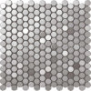Circle Sainless Steel Mosaic Tile C5A021-2
