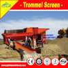 High Recovery Ratio Large Scale 300 T/H Gold Process Plant Mobile Trommel