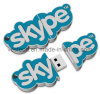 Promotional PVC Branded USB Stick, Customized PVC USB Flash