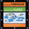 Wm Tarp 80GSM-90GSM 4X6m Camping Ground Sheet Waterprof Cover