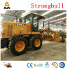 Gr180 Xjn Strongbull Brand 180HP Motor Grader with Front Dozer and Rear Ripper