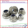 Zinc Plated M16 Flange Nuts Hexagon Head Nuts with Flange Carbon Steel Flange Nuts