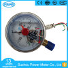 Stainless Steel Pressure Gauge Manometer Brass Internals Silicone