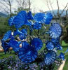 Article Blue Murano Decoration Glass Craft Sculpture for Park