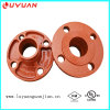 Grooved Pipe Joining Flange Coupling and Flange Adaptor with FM UL Listed