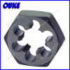 DIN382 Metric HSS Hexagon Die Nut