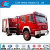 Fire Fighting Truck Manufacturer Produced HOWO 4X2 Fire Extinguisher Truck