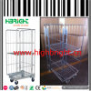 Folding and Nesting Mesh Box Pallets Trolley Carts