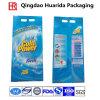 Plastic Side Gusset Laminate Laundry Detergent Packing Washing Powder Bag