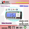 Clock Style Digital Video Recorder with Motion Detector & Remote Control