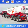 Heavy 3axle 30cbm Bulk Cement Semi Truck Trailer to Kenya
