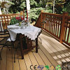 China Factory PVC Wood Cheap Composite Decking