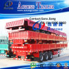 Hot Sale Tri-Axle 40ft Flatbed Semi Trailer with Side Panel