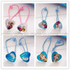 Girls Elastic Hair Bands with Frozen Pendant