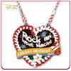 Custom Die Casting Carnival Festival Heart Shape Metal Medal