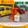 Clay Hydraulic Interlocking Lego Brick Making Machine 2 PCS Sy2-10
