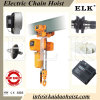 1ton Electric Chain Hoist with Friction Clutch /Clutch Hoist with Manual Trolley