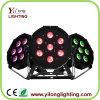 Hot Selling 7PCS RGBA Plastic Housing Mini 10W LED PAR