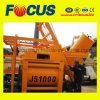 Modern Design Js1000 Twin Shaft Compulsory Concrete Mixer